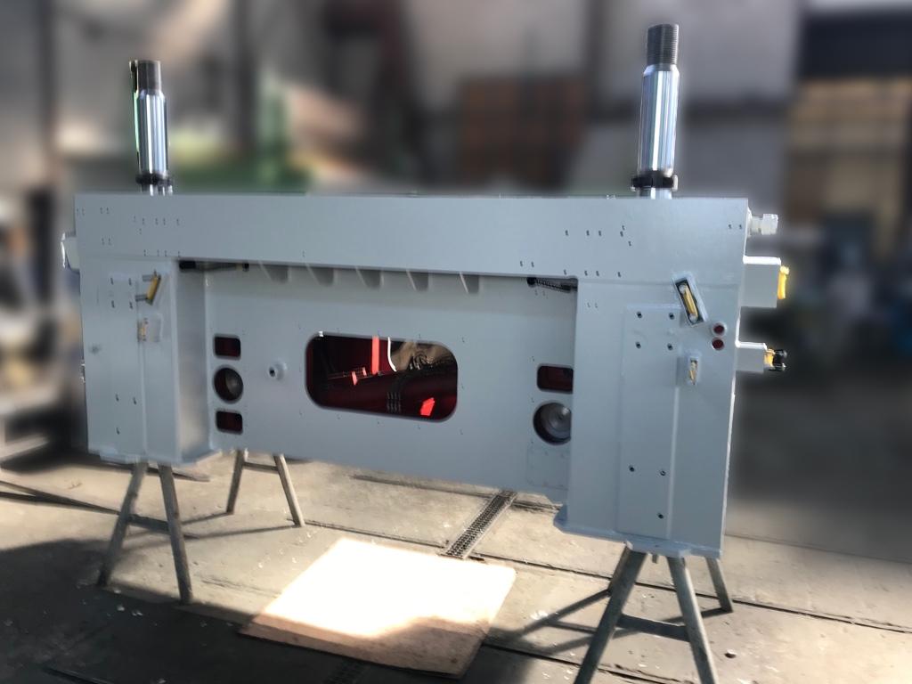 Aufbereitung einer gebrauchten Maschine